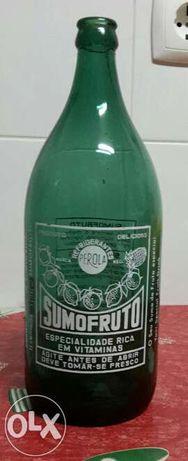 SUMOFRUTO - Garrafa de litro pirogravada