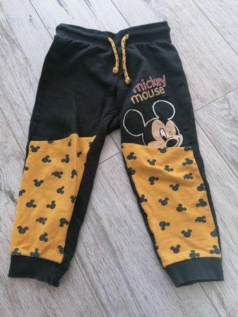 Spodnie Mickey chłopięce 98