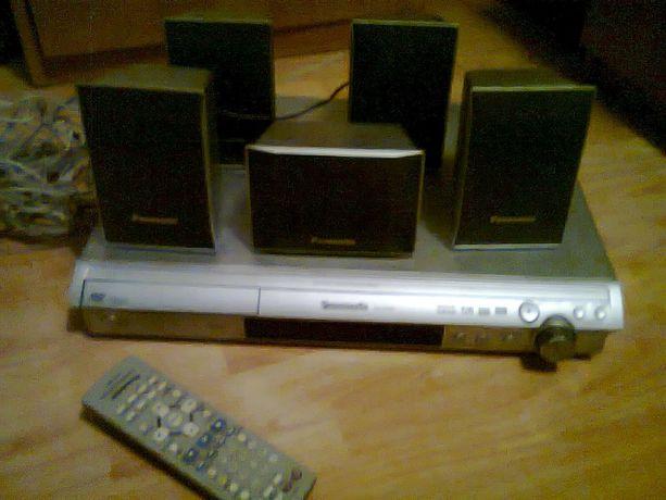 Kino domowe Panasonic SC-HT 340,srebrne.