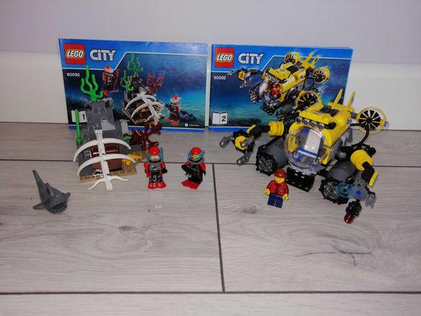 Lego City 60092 Łódź głębinowa, podwodna