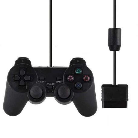 Comando Controlo remoto controller com fio Playstation 2 PS2 NOVO
