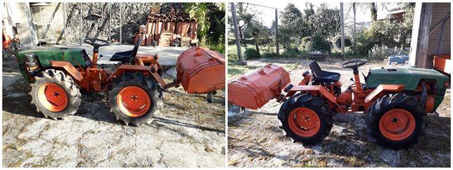 Trator Pasquali 4x4 21 cv