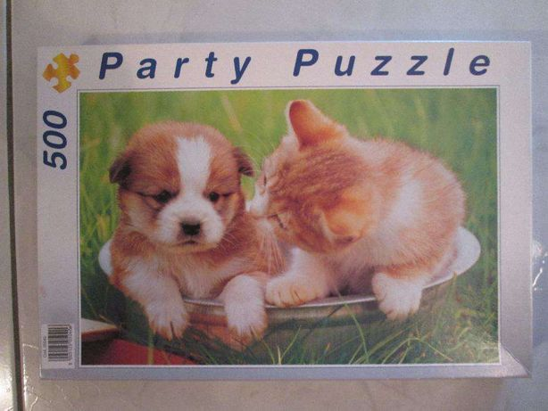 puzzle 500 peças gatinhos