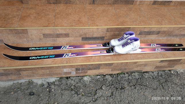 Продам лижі з ботосами