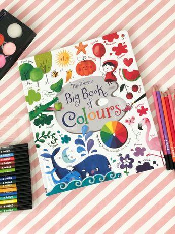 Big book of colours ,Usborne