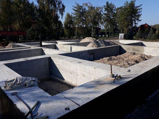 Строительство домов. Фундаменты Сваи Плиты Лестницы Бассейн