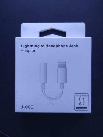 Adaptador Lightning para Jack 3'5