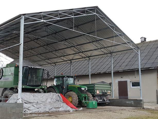 Konstrukcja ocynkowana 13sz 20dł 4h  modułowa garaż hala magazyn wiata