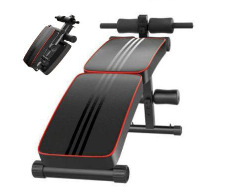 Banco de treino muscular dobrável multifunções NOVO **envio grátis**