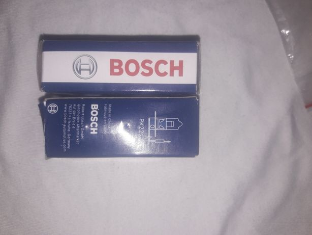 H3 12v 55w лампочка туманка pure light bosch 100% Germany
