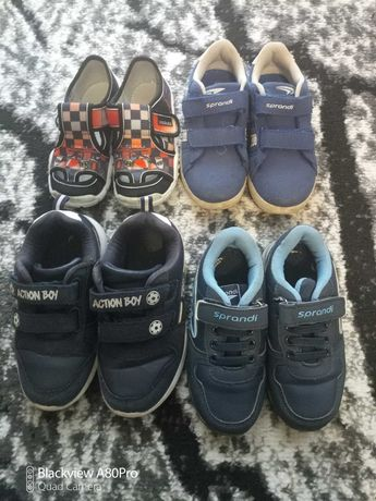 Zestaw butów adidasy sprandi action boy CCC 27