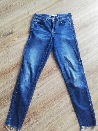 Jeansy, spodnie Zara