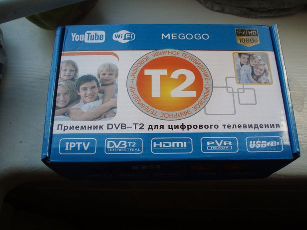 Цифровий телетюнер Т2 новий