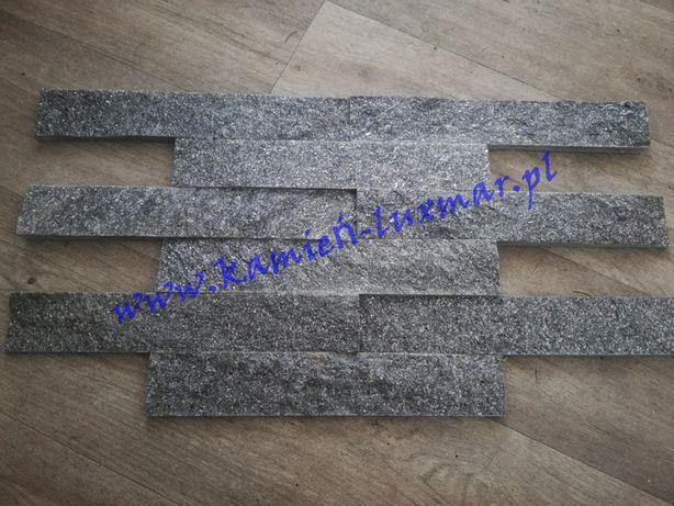 Płytka błyszczący grafit/kamień naturalny 5x25x1,5 (cm)