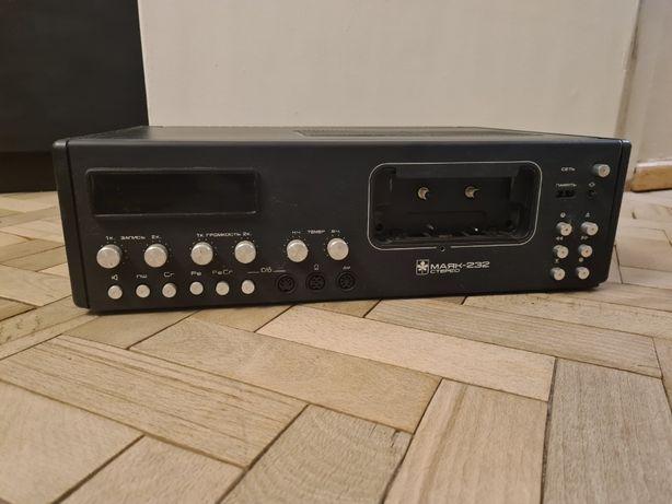 Маяк 232 стерео магнитофон