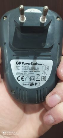 Зарядка для пальчиковых акб GP