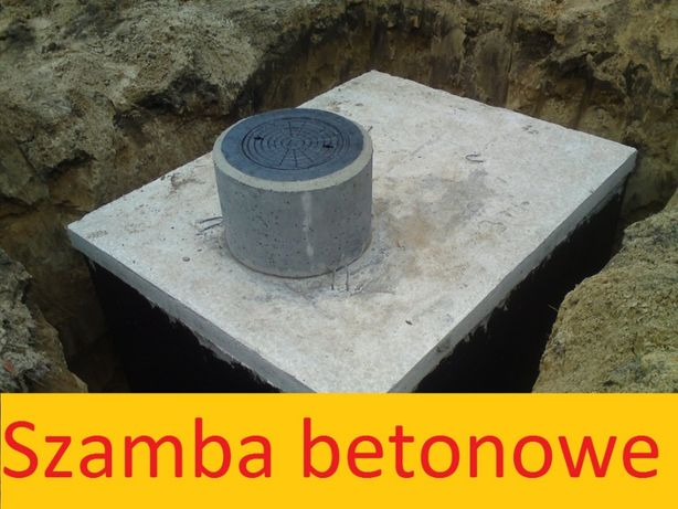 SZAMBA Betonowe Szczelne, Zbiornik na SZAMBO, Atest, GWARANCJA 5 lat