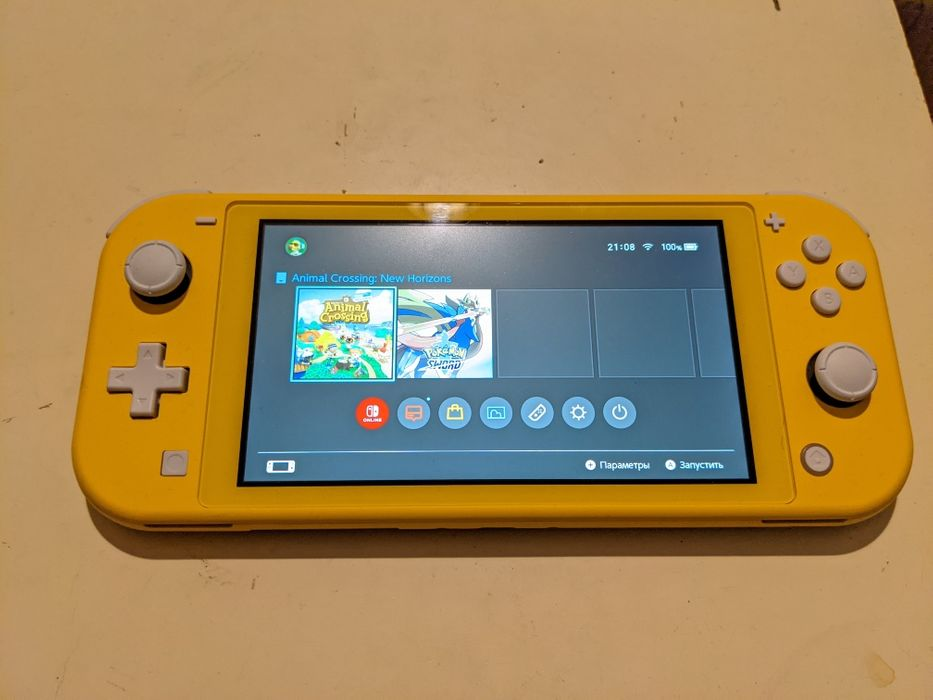 Nintendo Switch Lite Yellow с гарантией 1 год Киев - изображение 1