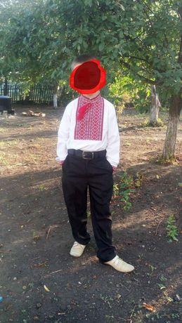 Рубашка вышиванка для мальчика 116-122р