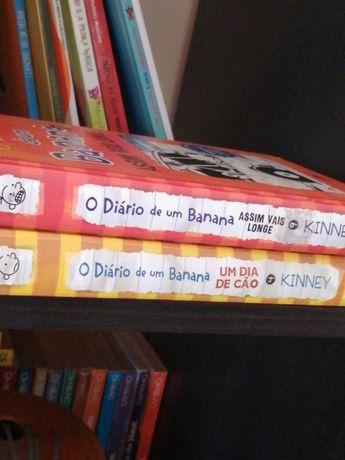 Diário de um banana livro infantil 9 e 4