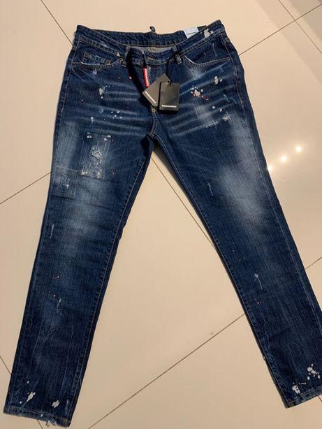 Nowe Jeansy dsquared2 XXL/XL 56