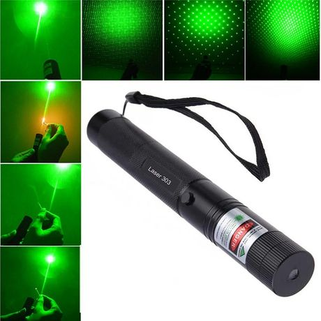 Лазерная указка зеленая лазер  Green laser pointer 303 1000мВт