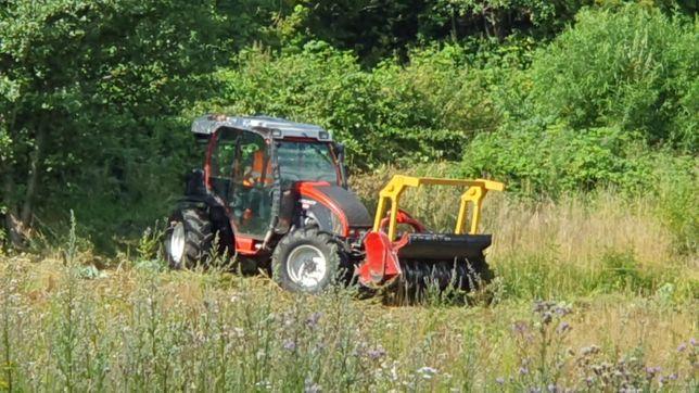 Mulczer leśny rozdrabniacz galezi oczyszczanie terenu karczowanie