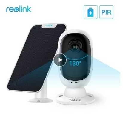 Reolink Argus 2  Câmera 100% sem fios com Wifi, bateria e painel solar