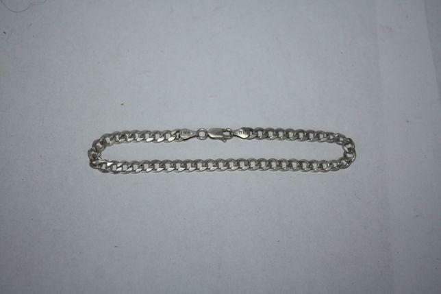 Серебряная цепочка браслет серебро 925 проба 195 мм 6.92 грамм