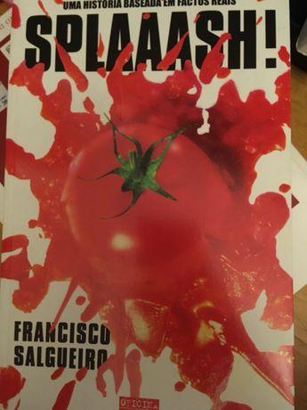 Livro Splash de Francisco Salgueiro