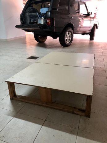 Estrutura Cama Autocaravana - Jipe