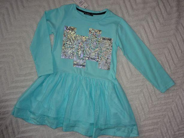 Sukienka dla dziewczynki rozm. 134