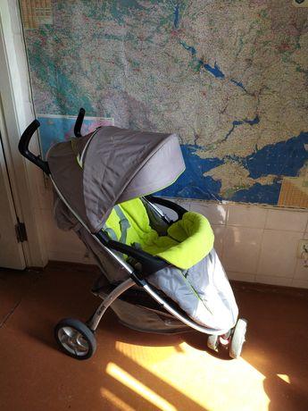 Прогулочная коляска лето зима Geoby трехколесная прогулянкова