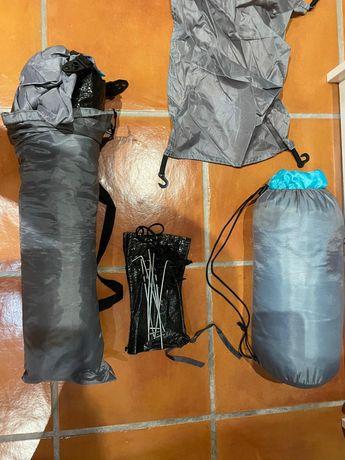 Tenda + saco cama