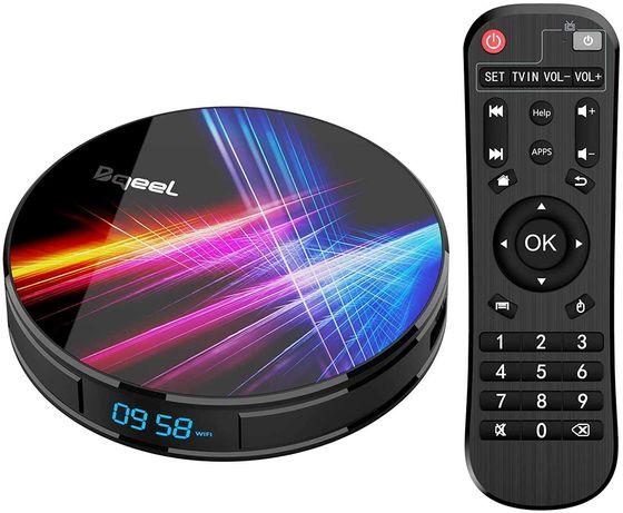 Bqeel Android TV Box 【4GB RAM+32GB ROM】