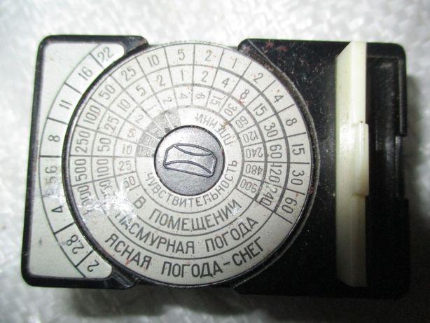 "ФотоЕкспонометер ""опТек""."