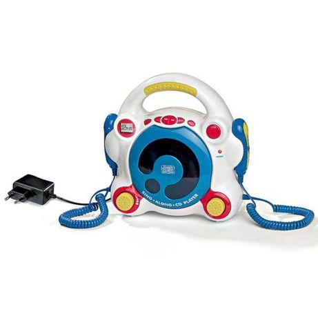 Детский CD-плеер, караоке, микрофон Ideenwelt RCK-554