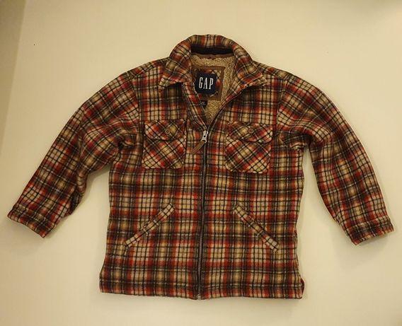 Bardzo ładna jesienna ocieplana kurtka dziecięca GAP rozm L 10lat