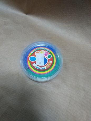 Ciastolina dwa kolory