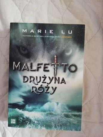 """"""" Malfetto - drużyna róży"""" ( książka )"""