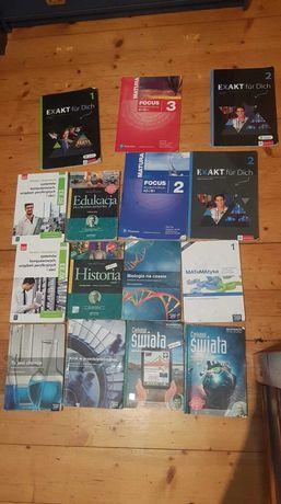Książki do technikum/liceum 1,2 klasa