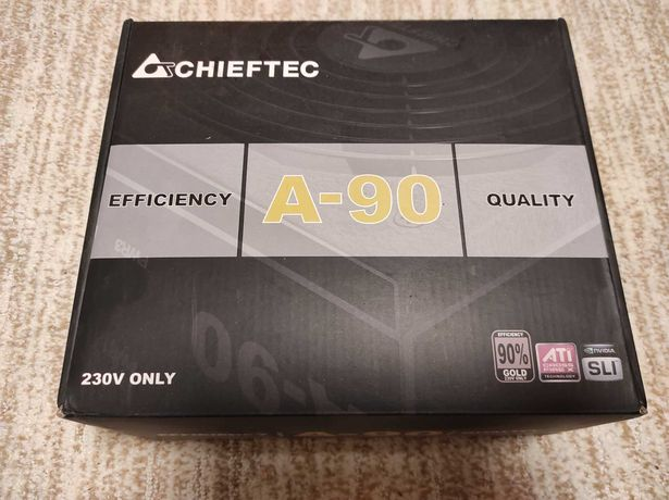 Блок питания 750W Chieftec A-90 Gold gdp-750c