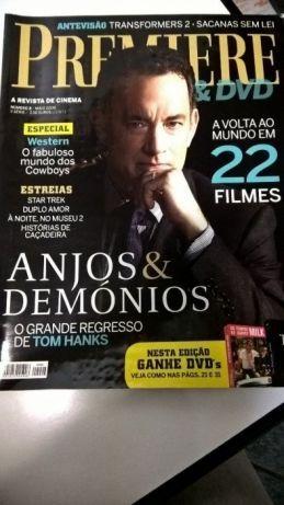 Revista Premiere - capa Anjos & Demónios/Tom Hanks (portes incluídos)