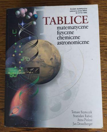 Tablice matematyczne, fizyczne, chemiczne, astronomiczne - Wyd. Park