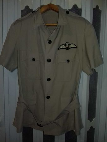 Рубашка-китель летчика Великобритании летняя RAF bush tropical.