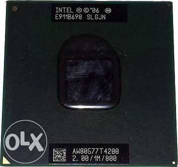 Intel Pentium Dual-Core Mobile T4200, 2000MHz - AW80577GG0411MA