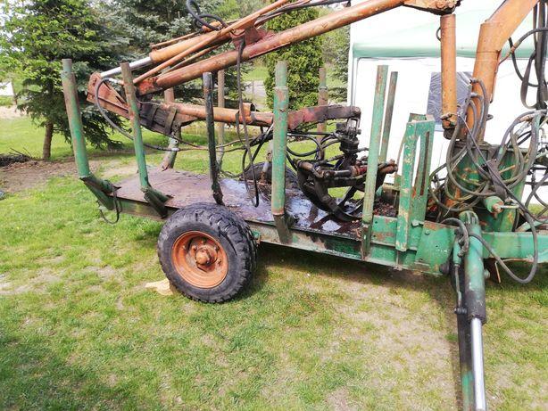 Wózek do ładowania drewna