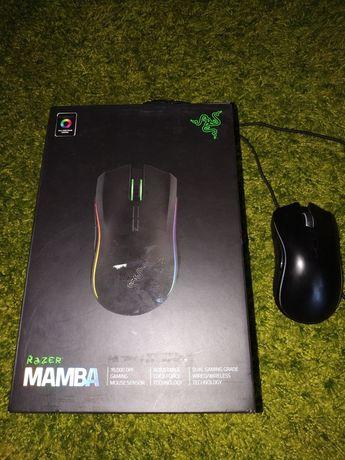 Продам мышь Razer Mamba 16000 Wireless/USB Black