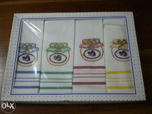 Caixa de 4 panos de cozinha para Prenda