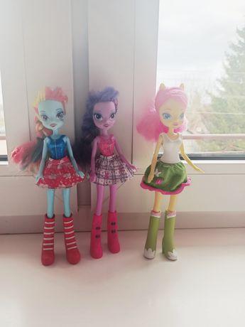 3 lalki my little pony